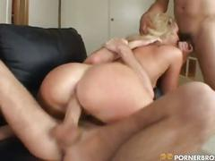 Nasty cock hungry blonde whore for hard pounding