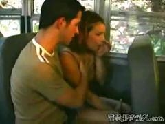 porno, anal, blowjob, brunette, fuck, vehicle, pussyfucking, bus