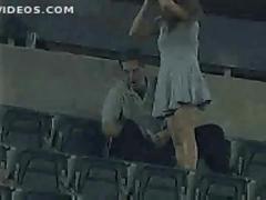Public fucking caught on camera