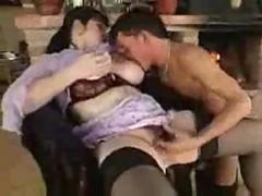 Big tit housewife tit fuck