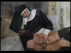 Nun porn anal