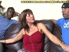 Son forced to watch mom suck cocks