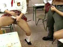 Pissing schoolgirls