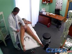 amateur, blonde, pov, squirt, czech.xxx, czech-porn, czech, czech-babes, czech-xxx, voyeur, reality, real, hospital, doctor, nurse, patient, exam