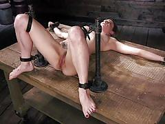 Kinky bondage device for refined sexual pleasures