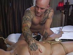 Whipped and fucked by dominating husband