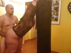 Atada y follada-tied and fucked
