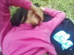 North-east couple outdoor sex