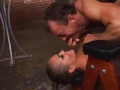 Dominating babe gets fucked in the ass