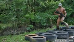 Abnormal black anal porn and gay guys with hot wet ass jungle bang fest