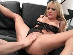Livegonzo amy brooke nasty anal blonde