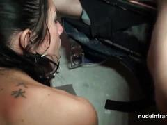 Sextape young french slut banged in threeway with her bf