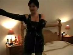 stockings, blowjob, handjob, brunette, amateur, fingering, mature, boots, pussylicking, latex
