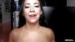 Chicas loca - hardcore mmf threesome with british babe and spanish studs