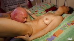 Xxx omas - mature german granny takes hard cock in pussy and cum in mouth