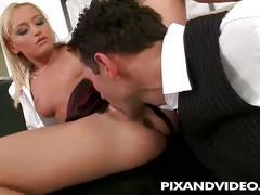 Hot babe kathia sucks and fucks to get the job