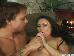Sweet asian babe mya luana fucked by big cock