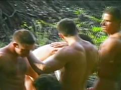 All-star orgy out in the jungle