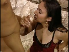 Brunette with nice naturals horny for a good hard fuck