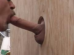 Ultimate spunk loving lewd daddies fervent blowing in glory hole