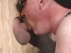 amateurs, bears, blowjobs, dads & mature, glory hole, cub, dad, deepthroat, face fucking, first time, gagging, hairy men, mature, older man, sloppy blowjob