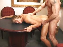 Red hot big peckers muscled studs deep down anal nailing session