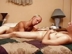 Inferno gay sex movie with perverted daddy whacking young ass