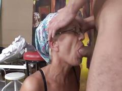 big dick, granny, hairy pussy, hardcore, old & young, big cock, doggy style, old woman young man, piledriver, reverse cowgirl