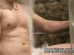 Muscle latino stud felix stulbach super hot shower session