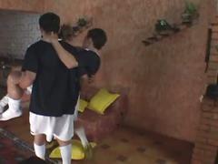 Brazilian barabacking games