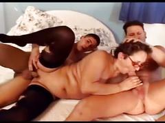 Granny the whore takes on young cock