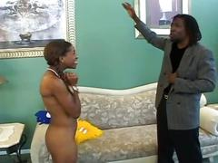 ebony, hardcore, pussy, teen, uniform, black pussy, cheerleader, cowgirl, doggy style, ebony fuck, missionary, shaved pussy, young