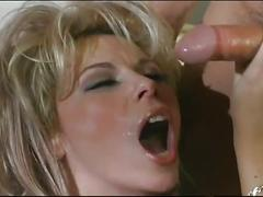 Hot blonde stepmom takes cock in her ass