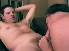 Amateur gay lovers sharing their filthy anal wrecking session
