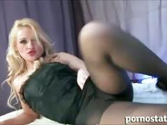 big dick, blonde, blowjob, pornstar, pov, stockings, jools brooke, big cock, pantyhose, platinum blonde, point of view, pov blowjob