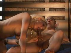 Extreme hardcore sex with a hot blonde babe