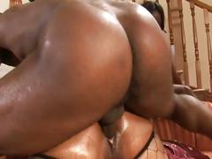 Extreme hardcore sex with a fat ebony in this hardcore video.