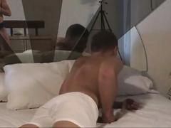 Sexy muscled gay studs trying their luck in hardcore anal fucking