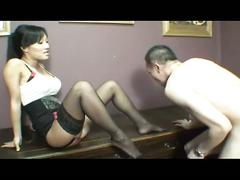 anal, asian, babe, brunette, foot fetish, hardcore, stockings, ass to mouth, beauty, black hair, chick, cowgirl, doggy style, feet licking, footjob, glamour, gorgeous, japanese, korean, missionary