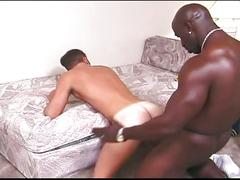 black men, interracial, assfucking, big black cock, black on white, deepthroat, face fucking, gagging, sloppy blowjob