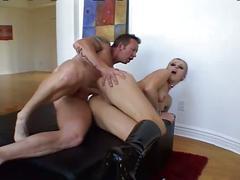 Slender blonde momma nasty anal corruption fucking