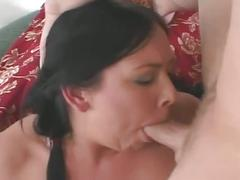 Fat nerdy brunette fucked by horny stud