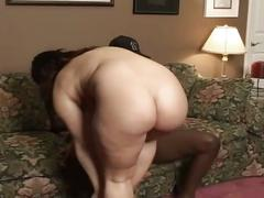 Black cock for a chubby whore