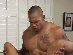 Gabriel d'allesandro gets ass dp'd by two big cocks