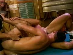 anal, blowjobs, dads & mature, hardcore, hunks, threesome, assfucking, body builder, dad, deepthroat, face fucking, gagging, mature, muscle man, older man, stud