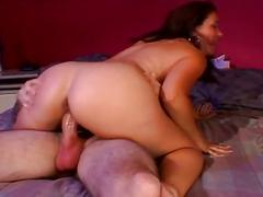 Busty brunette milf gets pussy pounding acton
