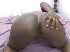 Ebony budonkadunk loves big black cock action