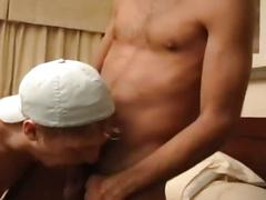 Young amateur hunks suck and fuck