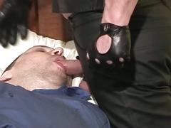 bdsm & fetish, big cocks, blowjobs, fat men, porn stars, bondage, chub, deepthroat, face fucking, leather, sloppy blowjob