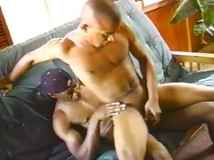 Black studs hot cock sucking and fucking